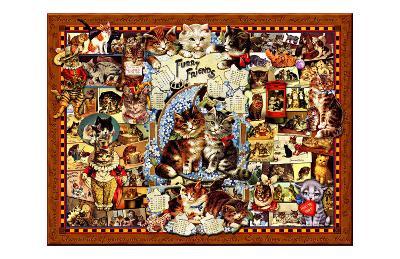Kitty Cat Follies-Kate Ward Thacker-Giclee Print