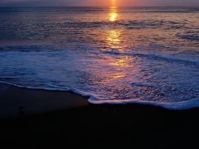 Kitty Hawk Beach at Sunset-Raymond Gehman-Photographic Print