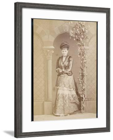 Kitty Maxse, Thought to Have Been a Model for Virginia Woolf's Character Mrs Dalloway--Framed Photographic Print