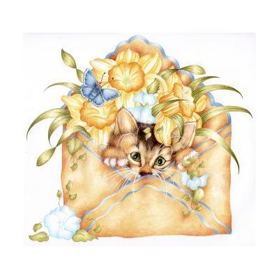 Kitty Post-Karen Middleton-Giclee Print
