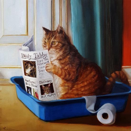 Kitty Throne-Lucia Heffernan-Art Print