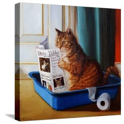 Kitty Throne-Lucia Heffernan-Stretched Canvas Print