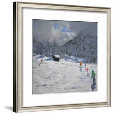 Kitzbuhel, Austria, 2008-Andrew Macara-Framed Giclee Print