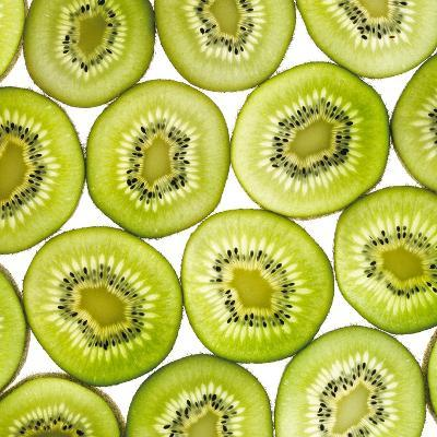 Kiwi Slices-Mark Sykes-Photographic Print