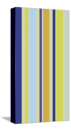 Kiwi Stripe-Dan Bleier-Stretched Canvas Print