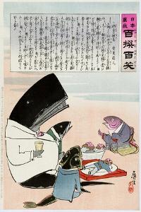 Russo-Japanese War, C. 1905 by Kiyochika Kobayashi