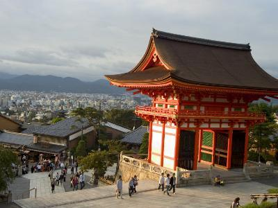 Kiyomizu Dera Temple, Unesco World Heritage Site, Kyoto City, Honshu, Japan-Christian Kober-Photographic Print