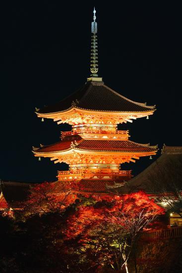 Kiyomizu-Dera Temple-Gavin Hellier-Photographic Print