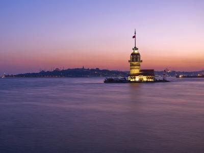 Kizkulesi, Istanbul, Turkey-Michele Falzone-Photographic Print