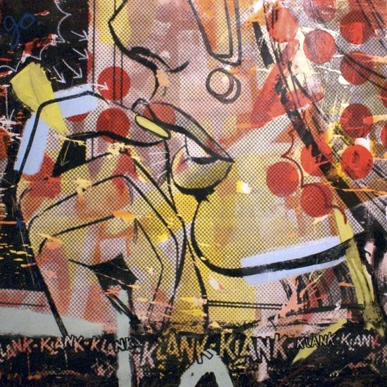 Klank Klank-Dan Monteavaro-Giclee Print