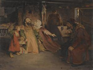 Ivan the Terrible by Klavdi Vasilyevich Lebedev