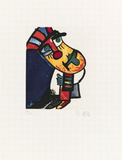 Kleine Gurke, c.1996-Otmar Alt-Limited Edition