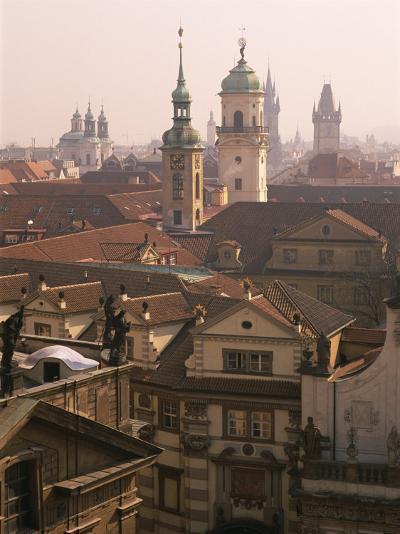 Klementinum Rooftop View (Former Library), Krizovnicke Namesti, Prague, Czech Republic, Europe-Neale Clarke-Photographic Print