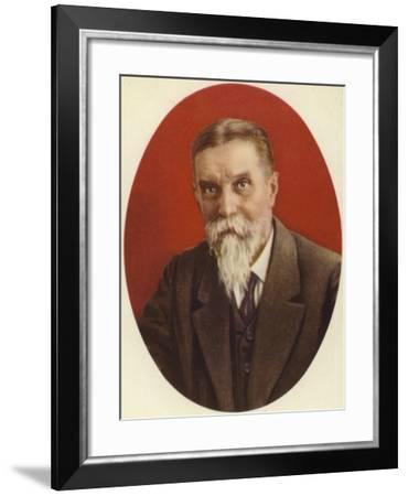 Kliment Timiryazev, Russian Botanist--Framed Giclee Print