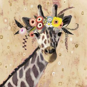 Klimt Giraffe II