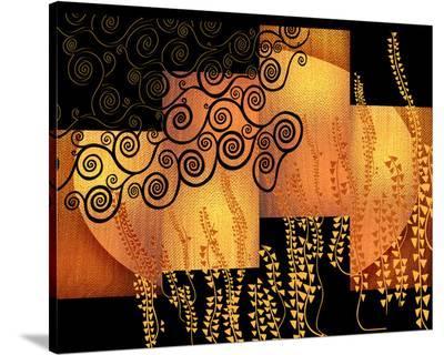 Klimt Moonrise-Michael Timmons-Stretched Canvas Print