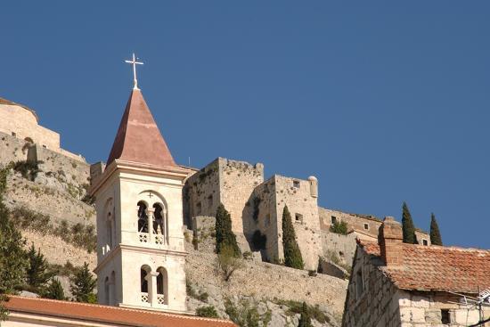 Klis Fortress, Near Split (Split), Dalmatia, Croatia--Photographic Print