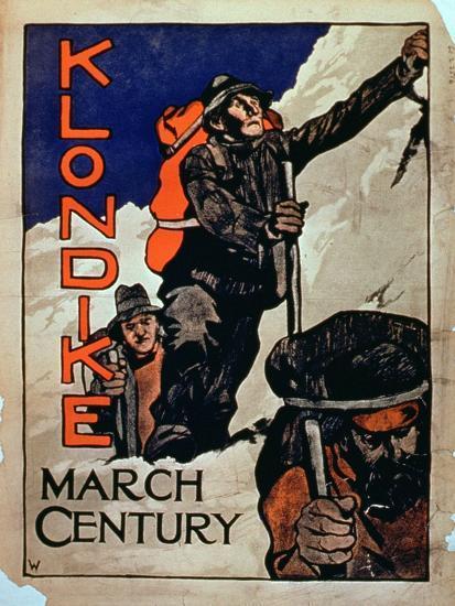 'Klondike March Century'--Giclee Print