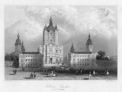 Kloster Smolnoi, Near St Petersburg, Russia, C1840-Albert Henry Payne-Giclee Print