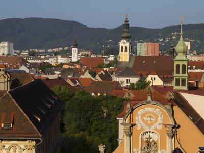 Kloster Spital, Barmherzigenkirche, UNESCO World Heritage Site, Graz, Styria, Austria, Europe-Dallas & John Heaton-Photographic Print