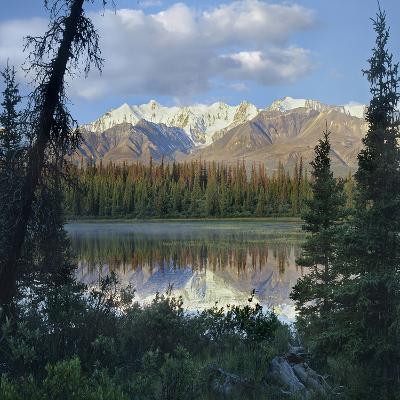 Kluane Range, Kluane National Park, Yukon, Canada-Tim Fitzharris-Photographic Print