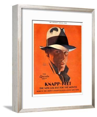 Knapp-Felt, Magazine Advertisement, USA, 1920