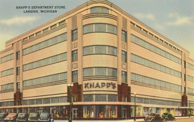 Knapps Department Store, Lansing, Michigan