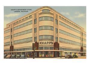 Knapps Department Store, Lansing, Michigan
