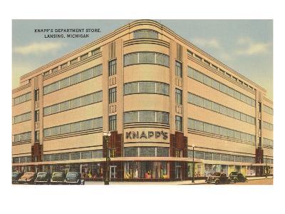 Knapps Department Store, Lansing, Michigan--Art Print