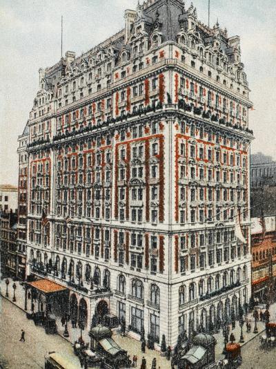 Knickerbocker Hotel - New York City--Photographic Print