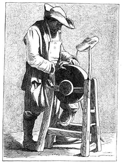 Knife Grinder, 1737-1742- Bouchardon-Giclee Print