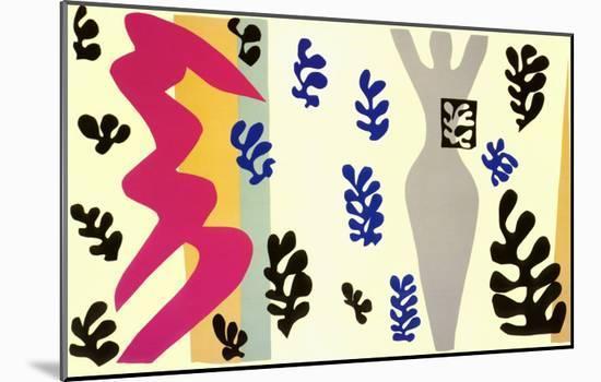 Knife Thrower-Henri Matisse-Mounted Art Print