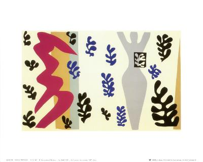 Knife Thrower-Henri Matisse-Art Print