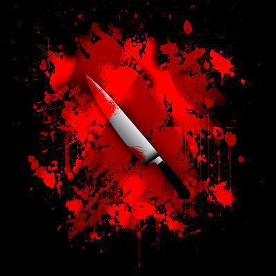 Knife-reznik_val-Art Print