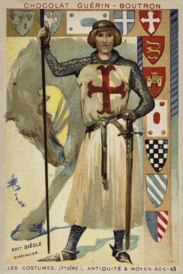 Knight, 13th Century--Giclee Print