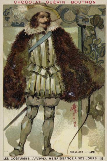 Knight, 1620--Giclee Print