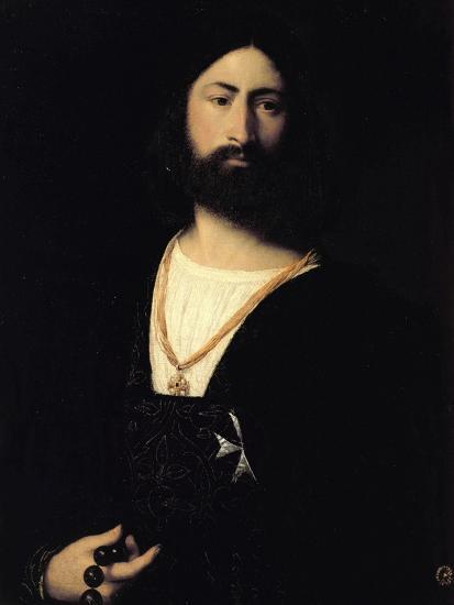 Knight of the Order of Malta-Titian (Tiziano Vecelli)-Giclee Print