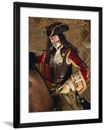 Knight's Armor known as French Knight--Framed Giclee Print
