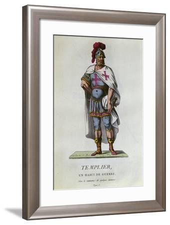 Knight Templar in Battle Dress, 1786, France--Framed Giclee Print
