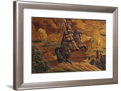 Knight--Framed Giclee Print
