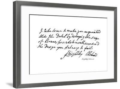 Knightley Chetwood--Framed Giclee Print