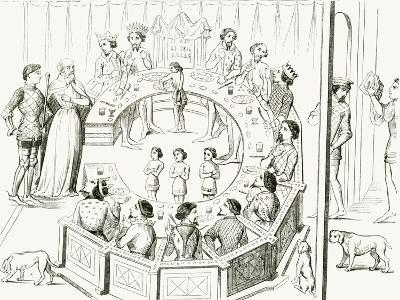 Knights of the Round Table--Giclee Print
