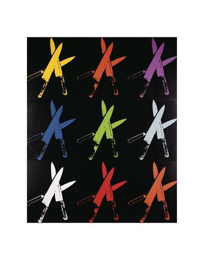 Knives, 1981-82 (multi)-Andy Warhol-Art Print