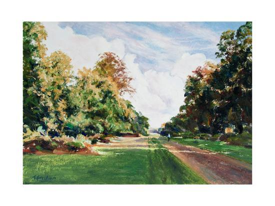 Knole Park, Sevenaoks-Anthony Fandino-Giclee Print