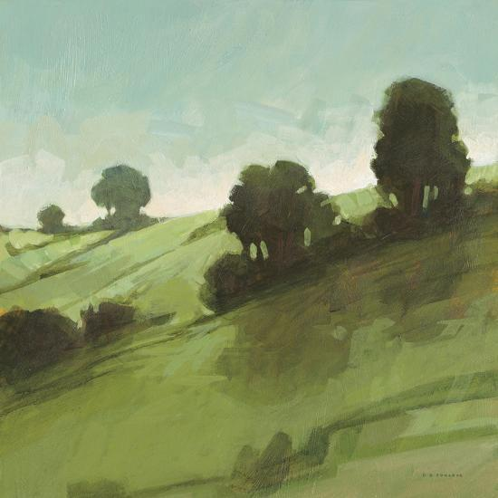 Knoll View 3 Square-DB Edwards-Art Print