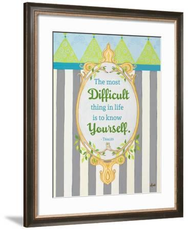 Know Yourself-Andi Metz-Framed Premium Giclee Print
