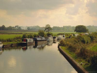 Knowle Locks, Autumn, the Grand Union Canal, West Midlands, England-David Hughes-Photographic Print