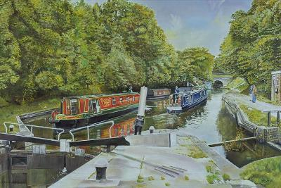 Knowle Top Lock, 2003-Kevin Parrish-Giclee Print