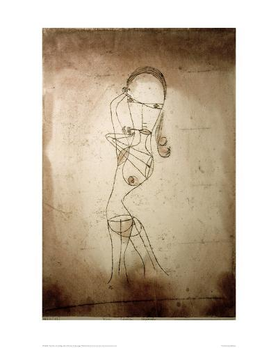 Knowledge, Silence Passing-Paul Klee-Giclee Print