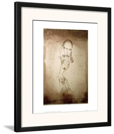 Knowledge, Silence Passing-Paul Klee-Framed Giclee Print